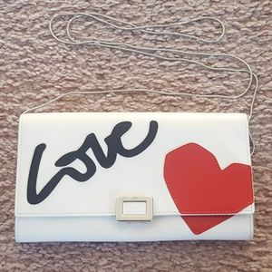 AUTHENTIC Roger Vivier LOVE Wallet on a Chain
